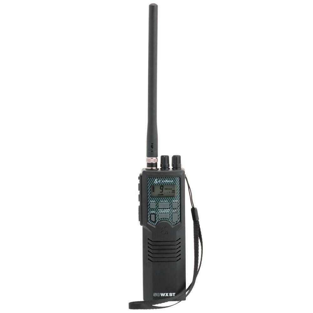 Cobra Electronics HH 50 WX ST Portable 40 Channel CB Radio NOAA Weather Alerts. Available Now for 89.95