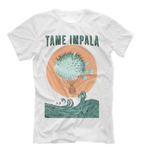 Tame Impala Band Concert Tee Men Sleeve Cotton T-Shirt S-3XL