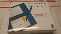 Sealed Nintendo Dsi Xl Handheld Game System Blue Ndsi Game Console Authentic
