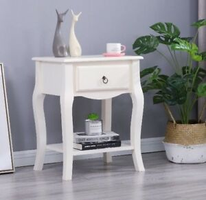 Image Is Loading French Style Side Lamp Table End Bedside