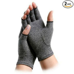Arthritis-Gloves-Compression-Support-Hand-Wrist-Brace-Relief-Carpal-Tunnel-Wrap