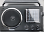 PORTABLE-RADIO-SW-AM-FM-MP3-PLAYER-amp-SD-CARD-SLOT-RECHARGEABLE-USB-SD-AC-DC