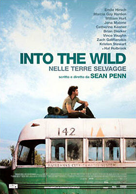 INTO THE WILD - ITALIAN MOVIE POSTER / PRINT