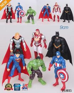 6pcs-MARVEL-AVENGERS-SUPER-EROE-incredibile-Action-Figure-Toy-Collection-TG035