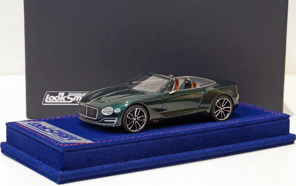 Looksmart 1 43 Bentley EXP 12 Speed 6e EXP Green LSBT06A