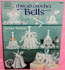 American School of Needlework Thread Crochet Bells Book Ornaments 14 Patterns