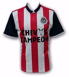 72fca33b5 Chivas del Guadalajara Chivas Campeon Men's Home Soccer Jersey Made ...