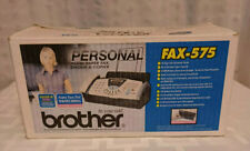 Brother Fax 575 Personal Fax With Phone And Copier Used In Opened Box