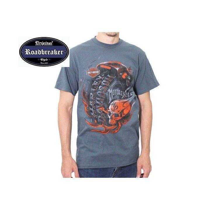Harley Davidson T Shirt neu Modell Fat Wheel