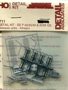 ho scale detail associates 711 detail kit genesis diesel ebay. Black Bedroom Furniture Sets. Home Design Ideas