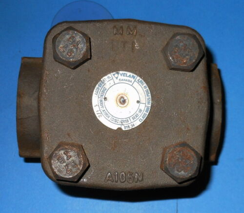 """1975 psig with a A105N Steel Body Velan- 1-1//2/"""" Check Valve Class 800"""