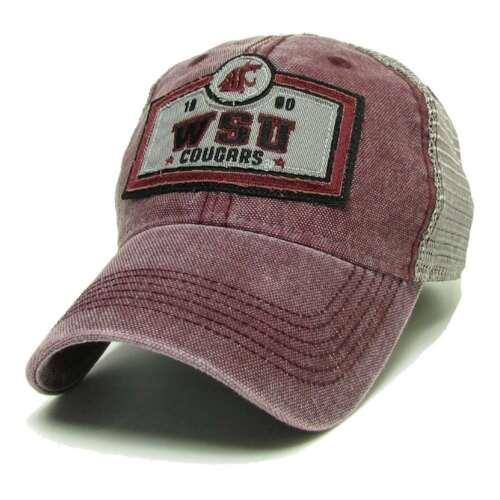 Washington State Cougars Legacy Trucker Hat Crimson Billboard