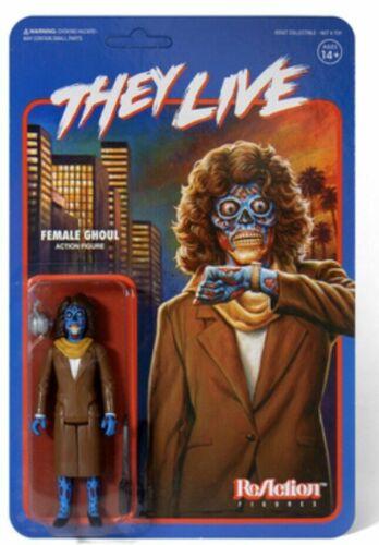 Super 7 Ils vivent Ghoul RéAction Action Figure Set of 2