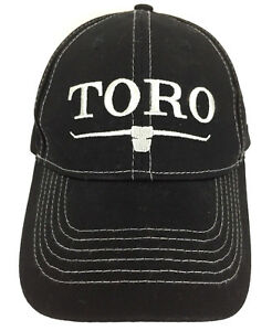 Toro-Hat-100-Years-Cap-Landscape-Equipment-Advertising-Baseball-Trucker-Black