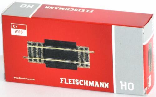 Fleischmann H0 6110-S Ausgleichsstück - NEU Länge 80-120 mm OVP 5 Stück