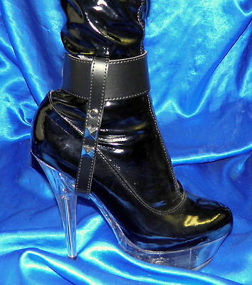 High Heel Trainer Fesselriemchen Heel Save Shackles Fussschellen