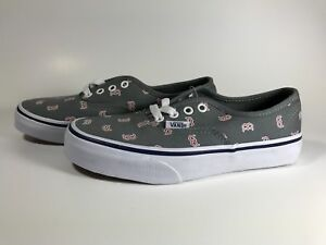 a8373e1338 Kids Unisex Vans Authentic MLB Shoes Size 2.5 Boston Red Sox NWT