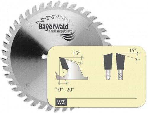 HM Kreissägeblatt - Ø 160 mm x 2,2 mm x 20 mm   Z=48 WZ