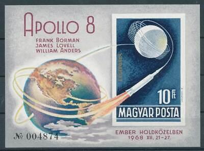 Briefmarken 285978 Ungarn Block 68b** Raumfahrt