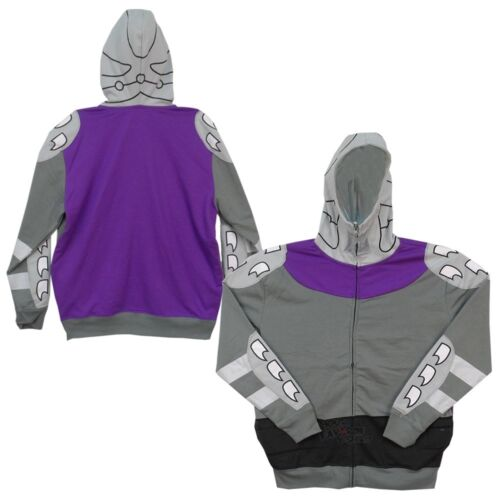 Teenage Mutant Ninja Turtles Shredder Costume Adult Zip Up Hoodie