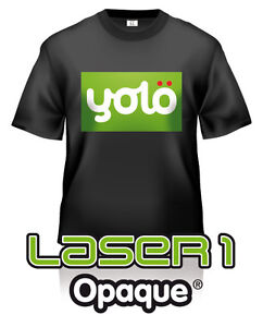 10x A3 Laser /& Copier T Shirt Thermal Transfer Paper Sheets For Dark Fabrics