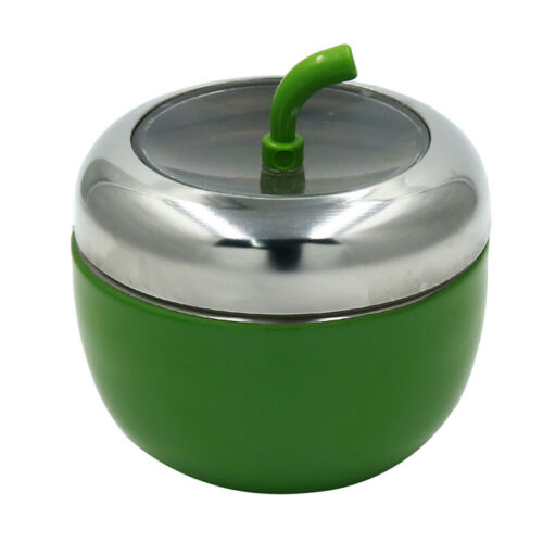 Stainless Steel Seasoning Canister Spice Jar Pot Salt Sugar Bowl Lid Spoon HS3