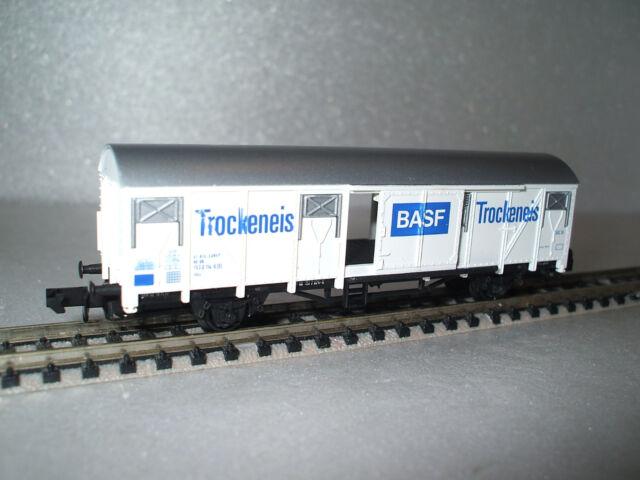 """4423 Arnold Wärmeschutzwagen der DB, 2-achsig, """" BASF Trockeneis """", in OVP,"""