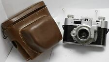 Rare - Kodak 35 35mm Film Rangefinder Camera w/ Special 50mm F3.5 Lens & Case