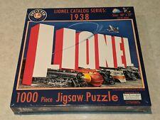1000 pc. Lionel Catalog Series: 1938 LIONEL JIGSAW PUZZLE Puzzles