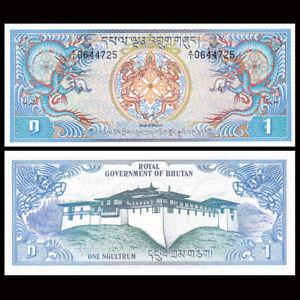Bhutan-1-Ngultrum-Banknote-ND-1981-P-5-UNC-Asia-Paper-Money