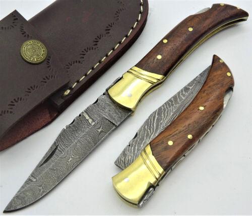 -RD22 Damastmesser-Taschenmesser-Laguiole-Jagdmesser-Damast Messer-Klappmesser