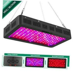 Yehsence 1500w Led Grow Light With Bloom And Veg Switch 15w Led Black 1500w Ebay