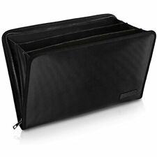 Expanding File Folder Important Document Organizer Fireproof Waterproof Bag With