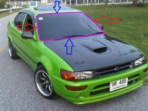 Details about FIT TOYOTA COROLLA E100 AE100 AE101EE101 FRONT Windshield  WINDSCREEN SEAL RUBBER