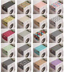 Ambesonne Arrow Washing Machine Organizer Cover For Washer Dryer Ebay