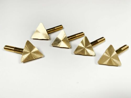 10 Brass Tip Replacements for 80 Watt Iron Plastic Welding Kits