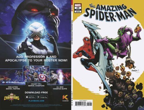 Amazing Spider-Man 49 850 2020 Legacy Marvel Comics GLEASON VARIANT PRESELL 9//30