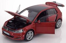 Norev  2014 Volkswagen Golf 7 Red Metallic in 1/18 Scale. New Release!