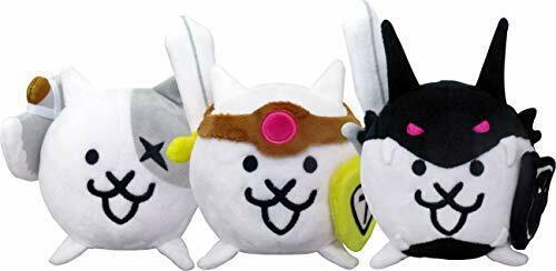 [Nyanko large war] stuffed Evolution Series Battle Cat set