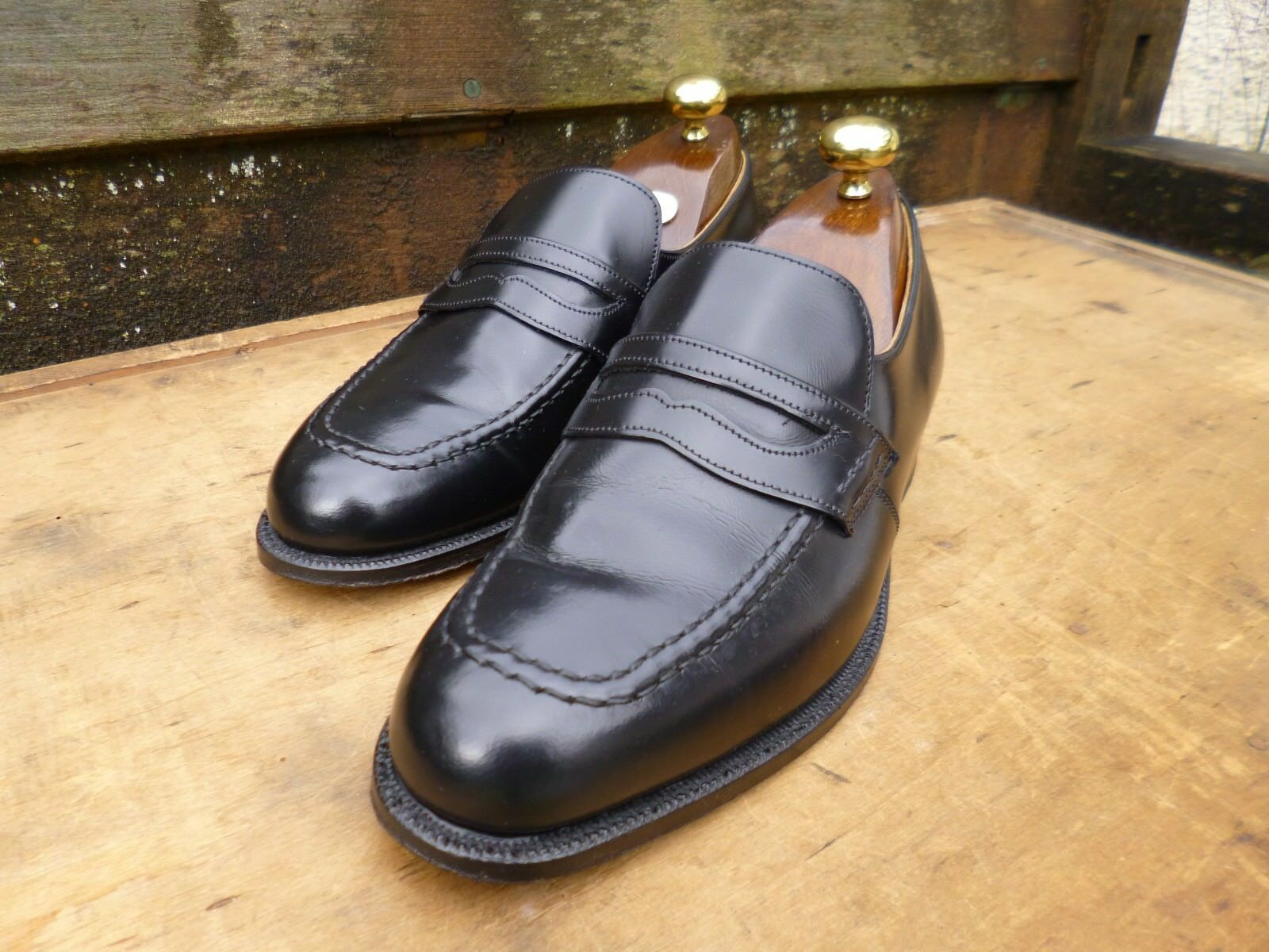 CHEANEY   CHURCH LOAFERS – schwarz – UK 6 6 6 – WAKEFIELD - EXCELLENT CONDITION c7b607