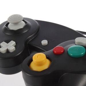 Negro-con-cable-Joypad-Classic-Controller-Pad-Gamepad-Para-Nintendo-Gamecube-Y-Wii