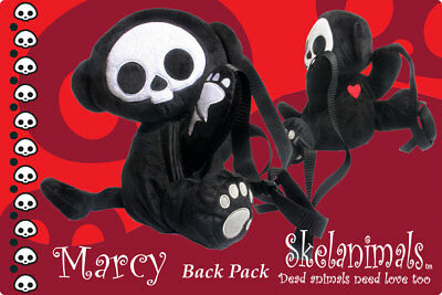 Toynami Skelanimals Deluxe Backpack Marcy Plush Monkey NEW with Tags