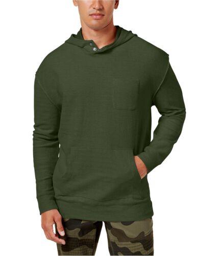American Rag homme texturé à Capuche Sweat-shirt Petit vert