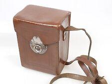 Leder Tasche Fototasche für eine 6,5x9 Plattenkamera Laufbodenkamera