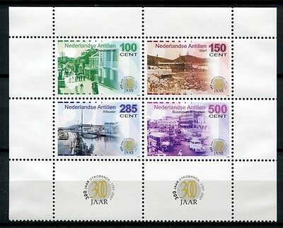 Europa Niederländische Antillen 2005 Otrabanda Architektur I Geschichte 1387-1390 Mnh Erfrischend Und Wohltuend FüR Die Augen Motive
