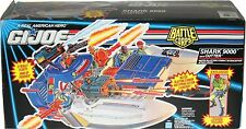 Vintage 1990's G.I. GI Joe Battle Corps Shark 9000 with Cutter With Box