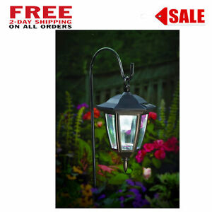Details About Lantern Outdoor Shepard Path Hanging Solar Lights 2 Pack