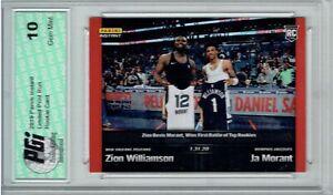 Zion-Williamson-Ja-Morant-2019-Panini-Instant-83-1-616-Made-Rookie-Card-PGI-10