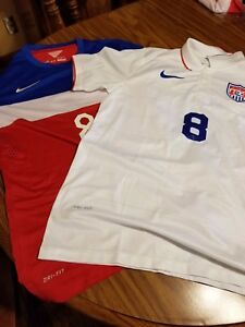 03243bce2cc X 2 Clint Dempsey United States Team USA Signed Nike Jersey ...