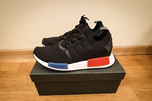 adidas NMD R1 OG PK Boost Primeknit Core Black Red S79168  15e332054